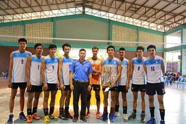 ชนะเลิศการแข่งขันวอลเลย์บอล ในรายการบางระกำโอเพ่น