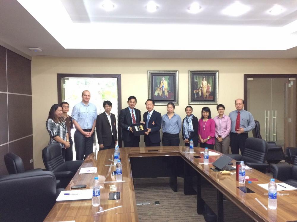 สถาบันคีนันแห่งเอเซีย เข้าเยี่ยมชมและประเมินผลสัมฤทธิ์รูปแบบการจัดการเรียนการสอนร่วมกับสถานประกอบการ RL TVET HUB