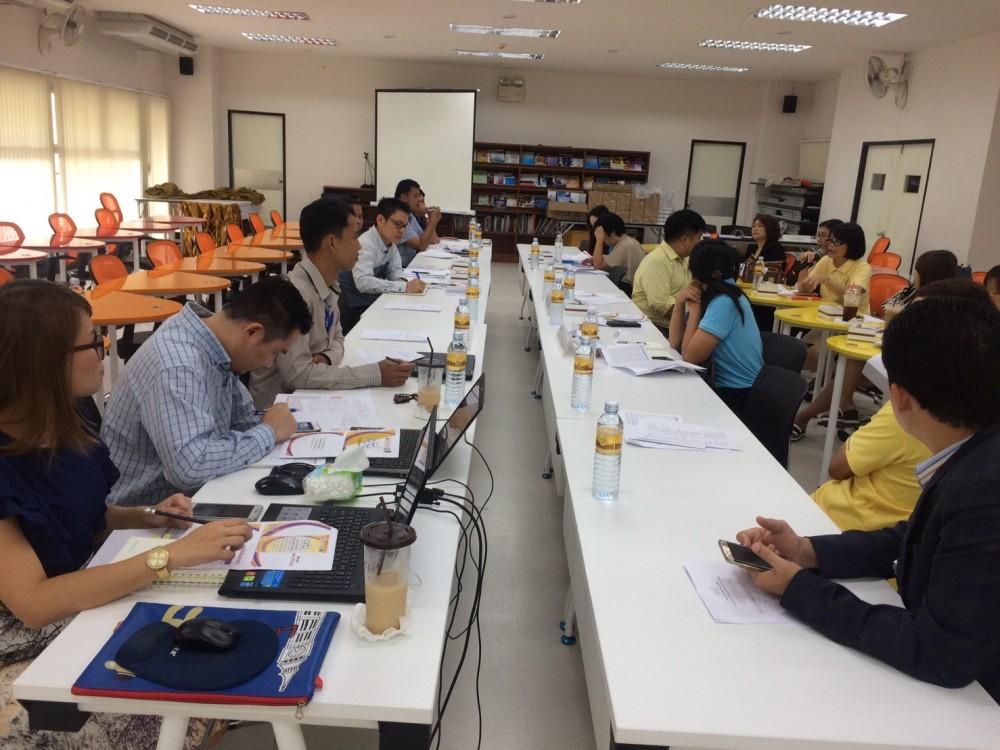 ประชุมเตรียมความพร้อมการจัดงาน CRCI-2016
