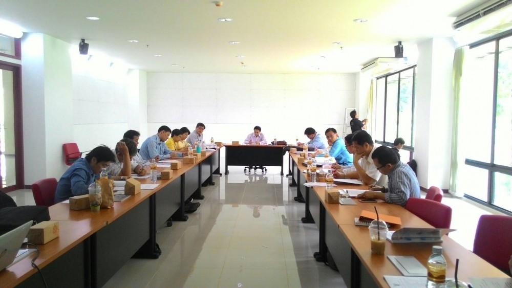 คณะวิศวกรรมศาสตร์ มหาวิทยาลัยเทคโนโลยีราชมงคลล้านนา จัดประชุมคณะกรรมการบริหารคณะวิศวกรรมศาสตร์ ครั้งที่ 6/2559