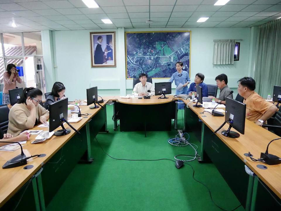 การประชุมเตรียมงานกฐินสามัคคี มทร.ล้านนา ประจำปี 2559