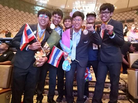 เด็กราชมงคลล้านนา คว้า 1 ทอง 1 ทองแดง แข่งขันฝีมือแรงงานอาเซียนที่มาเลเซีย