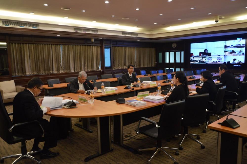 ประชุมคณะกรรมการประจำคณะวิทยาศาสตร์และเทคโนโลยีการเกษตร ครั้งที่ 10/2559