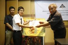 ศิลปกรรมฯมอบรางวัลภาพวาดสานสัมพันธ์ ไทย-ญี่ปุ่น