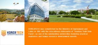 ทุนการศึกษา KOREATECH Korea University of Technology and Education