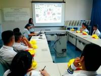 หลักสูตรเตรียมวิศวกรรมศาสตร์ วิทยาลัยเทคโนโลยีและสหวิทยาการ นำนักศึกษาดูงาน ที่ บริษัท ฟูจิคูระประเทศไทย จำกัด นิคมอุตสาหกรรม จังหวัดลำพูน