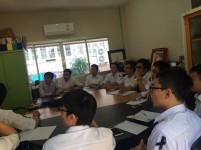 Thai Language and Cultural Class สำหรับนักศึกษาแลกเปลี่ยนจาก Ho Chi Minh University of Technology and Education