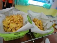 เด็กและเยาวชนจังหวัดลำปาง ฝึกอบรมเชิงปฏิบัติการ การทำข้าวเกรียบฟักทอง