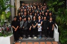 กองกิจการนักศึกษา มหาวิทยาลัยศิลปากร เข้าเยียมชมการดำเนินงานของกองพัฒนานักศึกษา มทร.ล้านนา