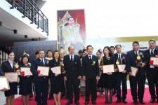 คณาจารย์และนักศึกษา มทร.ล้านนา ลำปาง เข้ารับรางวัลเชิดชูเกียรติ ปีการศึกษา 2559