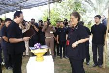 เฝ้ารับเสด็จสมเด็จพระเทพรัตนราชสุดา สยามบรมราชกุมารี ในโอกาสเสด็จพระราชดำเนินติดตามการดำเนินการสนองงาน ณ ศูนย์พัฒนาพันธุ์พืชจักรพันธ์เพ็ญศิริ ประจำปี พ.ศ.2559