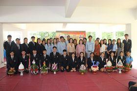รูปภาพ : พิธีไหว้ครู (สาขา) ประจำปีการศึกษา 2559