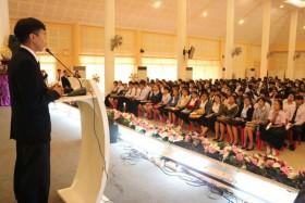 รูปภาพ : มทร.ล้านนา ลำปาง จัดงานปฐมนิเทศนักศึกษาใหม่ ต้อนรับทุกคนสู่รั้วมหาวิทยาลัยแห่งความสุข