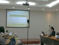 """รูปภาพ : นำเสนอผลงานวิจัยภาคบรรยายในงานประชุมวิชาการท่องเที่ยวระดับชาติ """"การพัฒนาการท่องเที่ยวไทยสู่ศตวรรษที่ 21"""