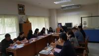 รูปภาพ : การประชุมคณะกรรมการประจำคณะ ครั้งที่ 95 (7/2560) วันที่ 10 สิงหาคม 2560 ณ อาคารบริหารธุรกิจ 3 ชั้น 2
