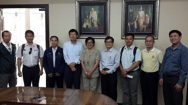 คณะผู้บริหารร่วมต้อนรับ Prof.Eiichi Kawai