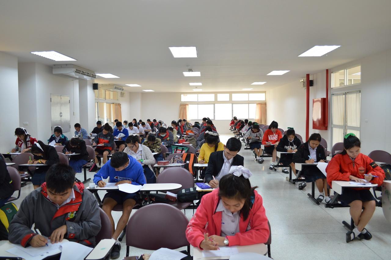 วิทยาลัยเทคโนโลยีและสหวิทยาการ โดยโรงเรียนโรงงานจัดสอบคัดเลือกนักเรียนเพื่อเข้าศึกษาต่อในระดับประกาศนียบัตรวิชาชีพชั้นสูง (ปวส.) ประจำปี 2559