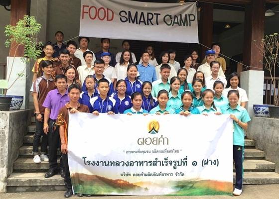 โครงการ Food Smart Camp 2559