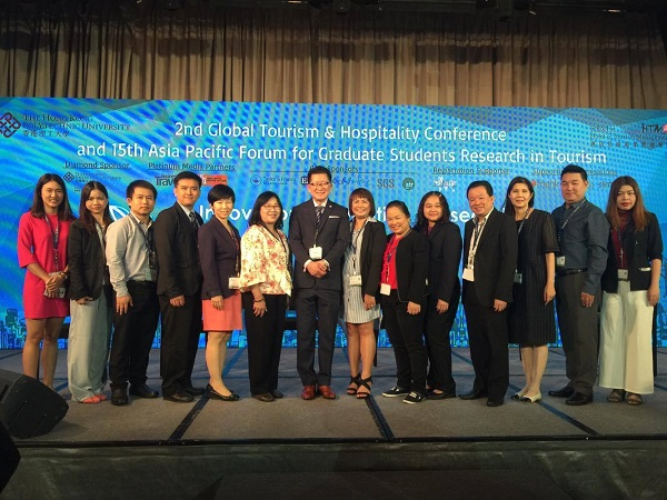 RMUTL joined the International Conference in Hong Kong