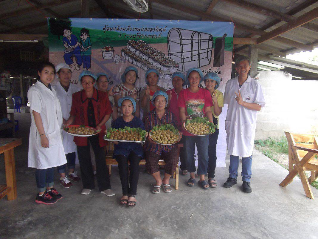 อาจารย์ มทร.ล้านนา ลำปาง เป็นวิทยากรฝึกอบรมเชิงปฏิบัติการ การทำซาลาเปาไส้เห็ด และขนมจีบไส้เห็ด ให้แก่กลุ่มวิสาหกิจชุมชนเพาะเห็ด บ้านทุ่งบ่อแป้น