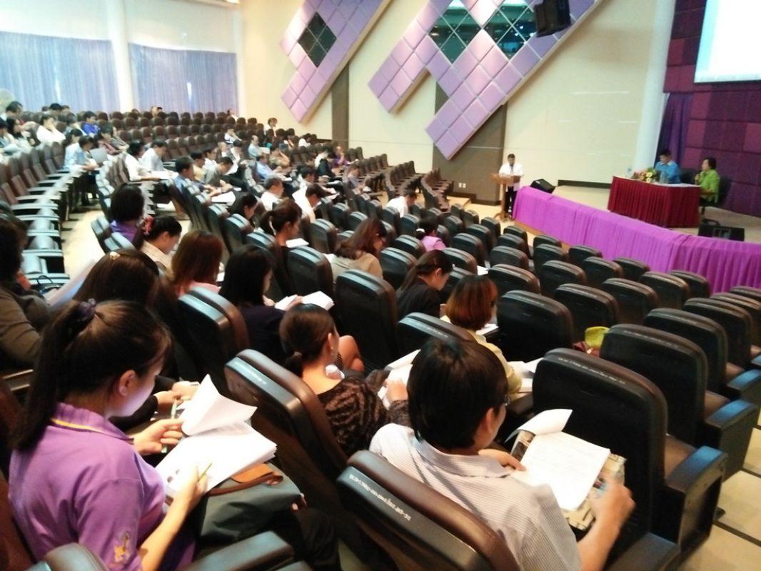 สำนักประกันคุณภาพการศึกษา มทร.ล้านนา ลำปาง จัดกิจกรรมประชุมเสวนาการประกันคุณภาพการศึกษา