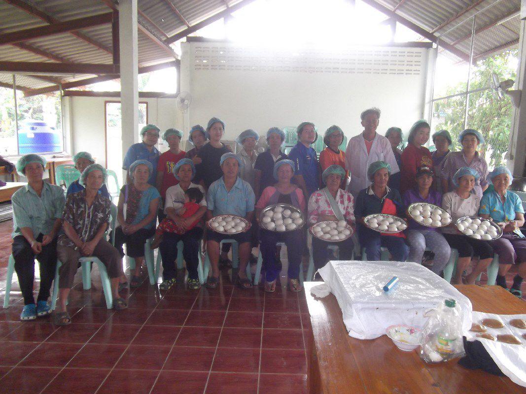 อาจารย์ มทร.ล้านนา ลำปาง เป็นวิทยากรฝึกอบรมเชิงปฏิบัติการ การทำซาลาเปา ให้กับกลุ่มผู้ปลูกอ้อยอินทรีย์