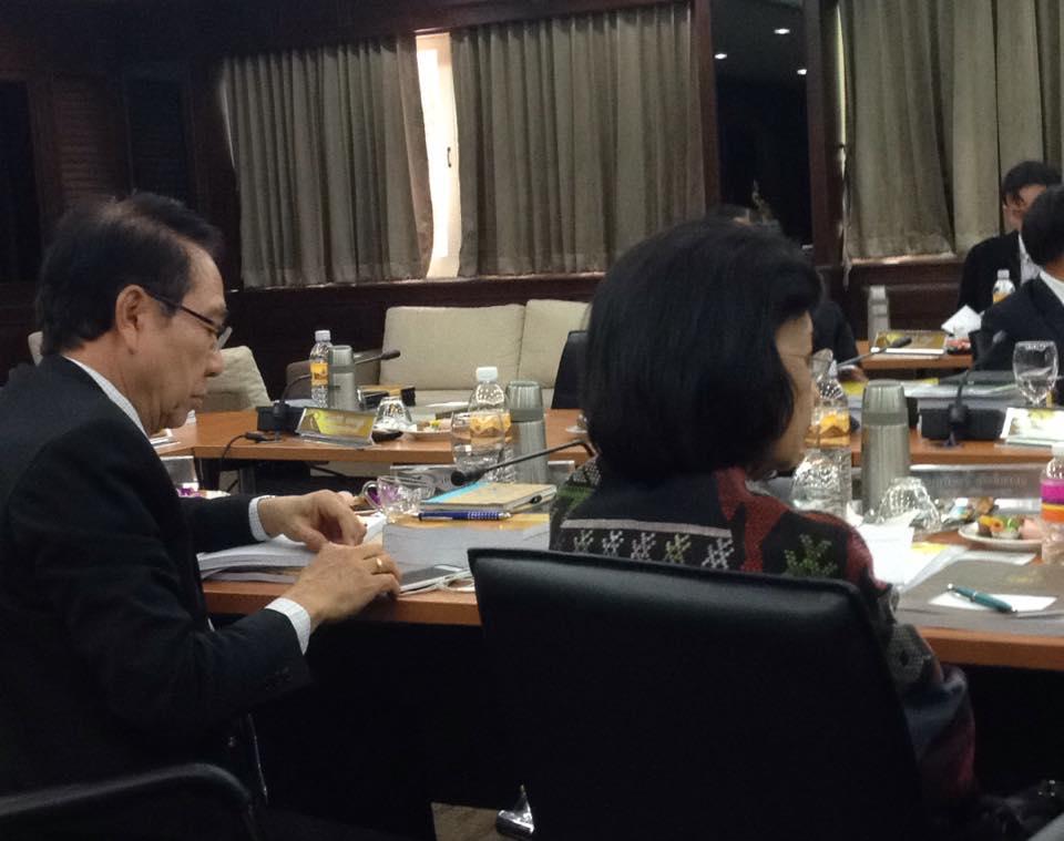 การประชุมสภามหาวิทยาลัยเทคโนโลยีราชมงคลล้านนา ครั้งที่ 84(5/2558) วันที่ 3 กรกฎาคม 2558