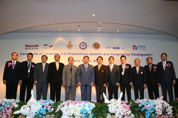 มทร.ล้านนา จับมือ สคช. และนานาชาติ จัดเวิร์คชอปมาตรฐานอาชีพผลิตบุคลากร สาขาแมคคาทรอนิกส์ ต่อยอดนโยบายรัฐบาลขับเคลื่อนประเทศไทยสู่สังคมเศรษฐกิจดิจิตอลรองรับอุตสาหกรรม 4.0
