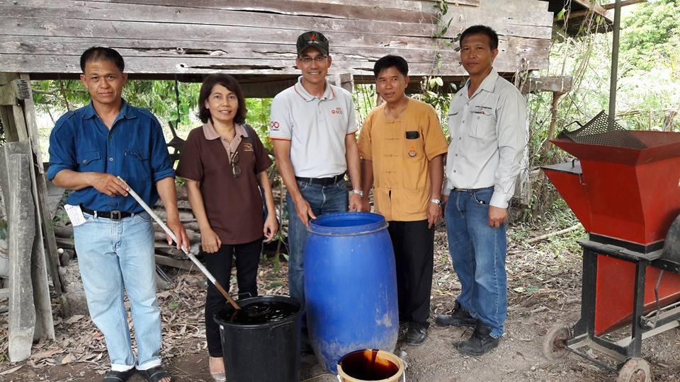 สถาบันวิจัยเทคโนโลยีเกษตร ถ่ายทอดความรู้การทำปุ๋ยบำรุงดินและสารไล่แมลง
