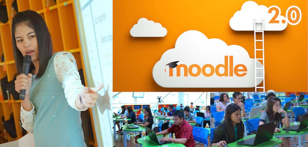 """วิทยบริการฯ จัดอบรมฟรี ๑๑ หลักสูตร ยอดฮิตติดเทรนด์ """"หลักสูตรที่ ๗ การสร้างบทเรียนออนไลน์ด้วยระบบ Moodle ๒.๐"""""""