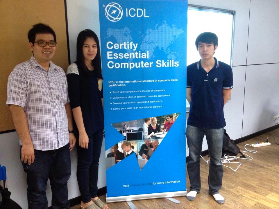 งานสารสนเทศเพื่อการเรียนรู้ เตรียมความพร้อมฯ การทดสอบ ICDL มทร.ล.ตาก