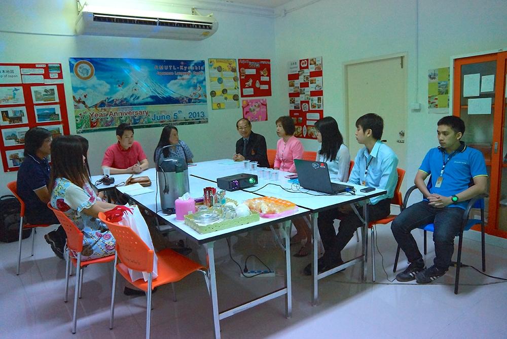 กลุ่มงานสารสนเทศฯ วิทยบริการฯ แนะนำการใช้งาน TMM Online คณะศึกษาดูงาน จาก มทร.รัตนโกสินทร์ฯ