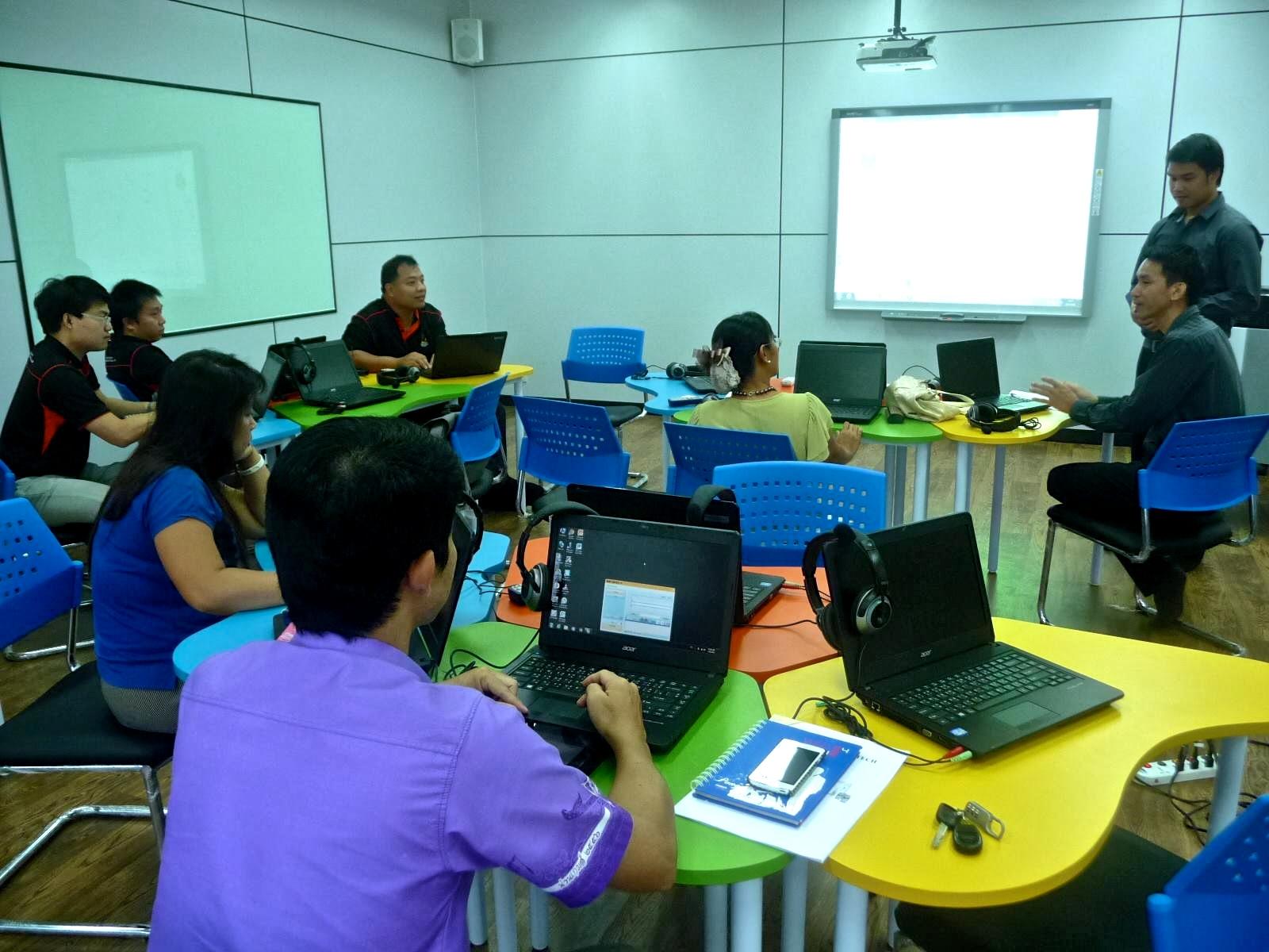ทีมวิทยะฯ น่าน Workshop ห้องปฏิบัติการ Learning Innovation Center