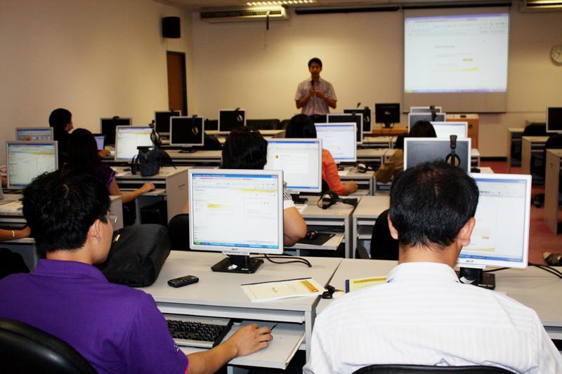 """สัมมนาเชิงปฏิบัติการ """" การจัดการเรียนการสอนผ่านระบบ e -Learning สำหรับอาจารย์ เขตพื้นที่น่าน,พิษณุโลก และลำปาง"""
