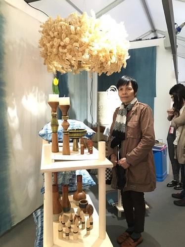 ผศ.วาสนา สายมาร่วมแสดงผลงานในนิทรรศการ Exhibition on Scottish – Thai Craft & Design Exchange