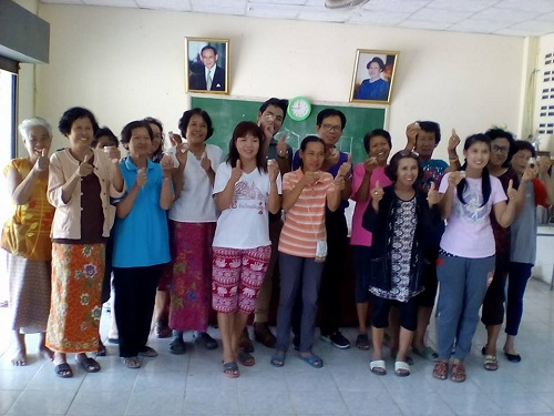 Technology Clinic of RMUTL Lampang organized the training of Mentholated Ointment and Pimsen Water Herb for Indian Long Pepper's agriculturists to be useful in family.