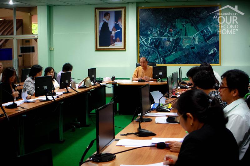 มทร.ล้านนา ลำปาง จัดประชุมคณะกรรมการบริหารมหาวิทยาลัย ครั้งที่ 6/2559