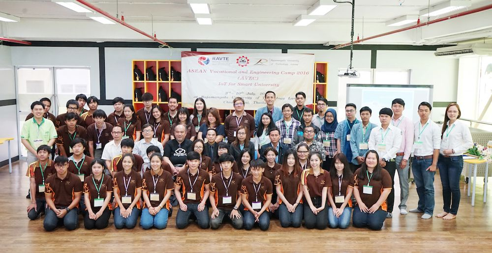 ASEN Vocational and Engineering Camp 2016 IoT for Smart University