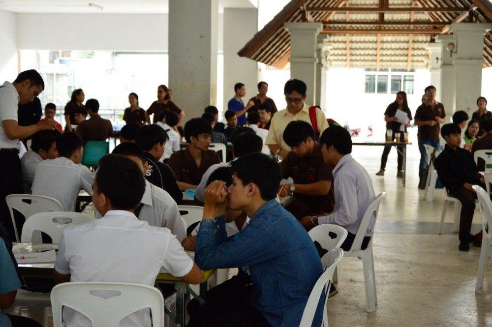 สาขาวิทยาศาสตร์ ร่วมจัดโครงการเรียนปรับพื้นฐานสำหรับนักศึกษาใหม่ (STEM Education) ปี 2559 ครั้งที่ 1