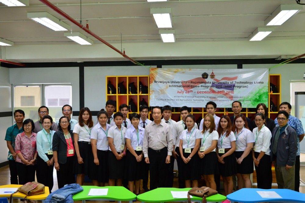 ปฐมนิเทศ โครงการแลกเปลี่ยนนักศึกษาฯ ระหว่าง Brawijaya-RMUTL International Class Program ; BRIC Program