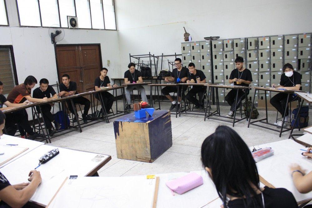 โครงการปรับพื้นฐานวิชาชีพ STEM CAMP คณะศิลปกรรมและสถาปัตยกรรมศาสตร์