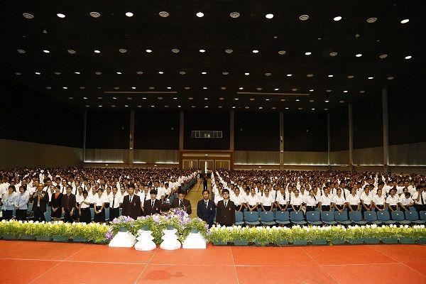 พิธีปฐมนิเทศนักศึกษาใหม่ ประจำปีการศึกษา 2559