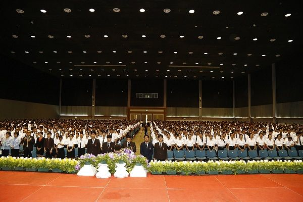RMUTL provided The New Students Orientation Ceremony 2016
