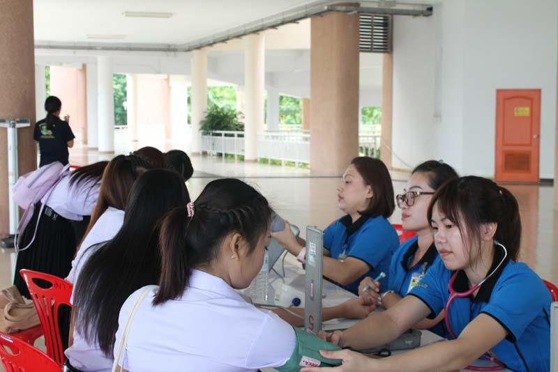 มทร.ล้านนา  ลำปาง จัดบริการตรวจสุขภาพนักศึกษาใหม่ ปีการศึกษา 2559
