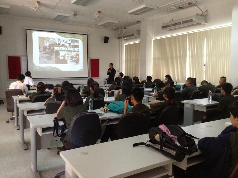 หลักสูตรเตรียมสถาปัตยกรรมศาสตร์ เยี่ยมชมการเรียนการสอนและศึกษาดูงานที่ มหาวิทยาลัยแม่โจ้และสมาคมสถาปนิกสยามในพระบรมราชูปถัมภ์