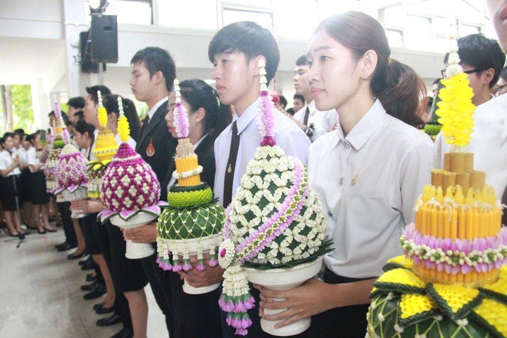 พิธีไหว้ครูประจำปีการศึกษา 2559