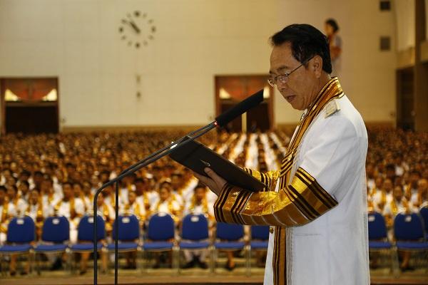 พิธีรับพระราชทานปริญญาบัตร บัณฑิตมทร.ล้านนา ปีการศึกษา 2557