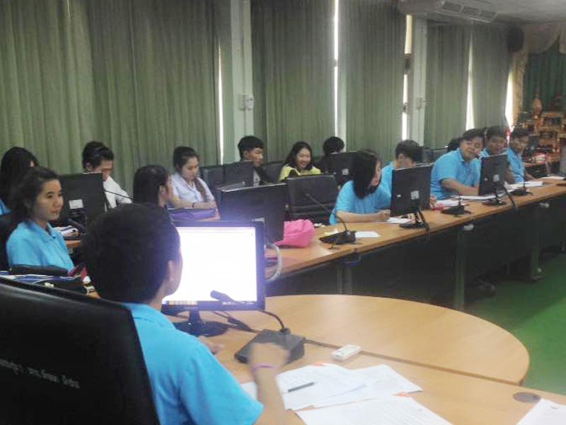 สโมสรนักศึกษา มทร.ล้านนา ลำปาง จัดประชุมจัดสรรงบประมาณ สโมสรนักศึกษา2559