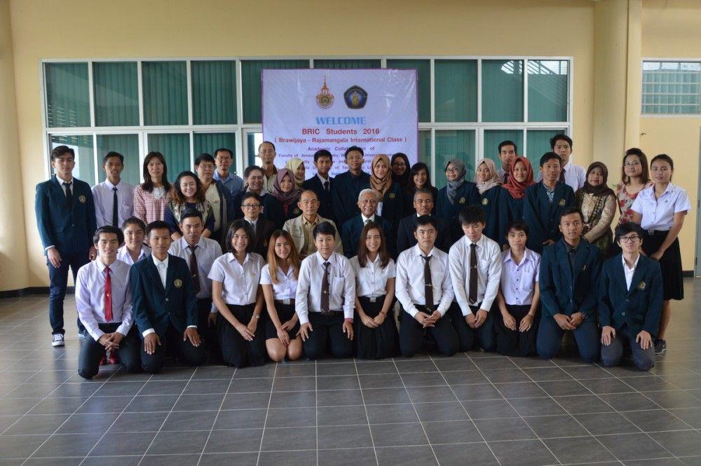 ต้อนรับผู้บริหาร และนักศึกษาแลกเปลี่ยน BRIC Student 2016