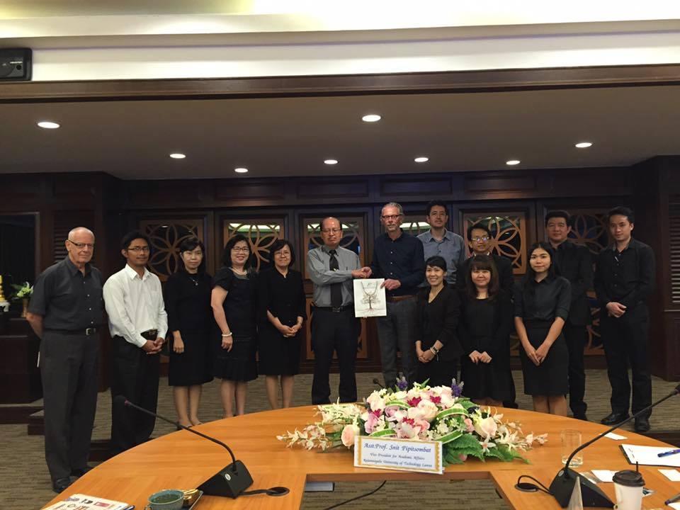 การประชุมร่วมกับผู้แทนจากWildesheim University of Applied Science